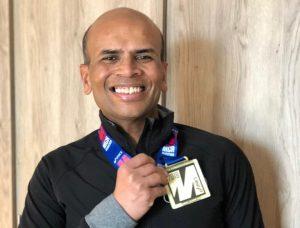 , Mr Pisal Runs The Comrades Ultra Marathon