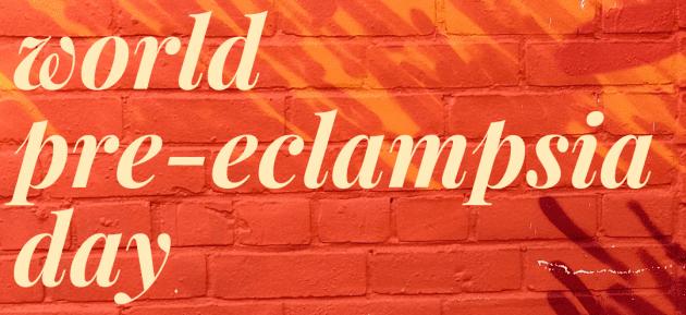 World Pre-Eclampsia Day